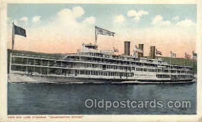 shi008110 - Washington Irving Steam Boat Steamer Ship Ships Postcard Postcards