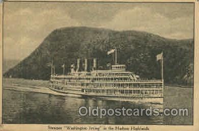 shi008114 - Washington Irving Steam Boat Steamer Ship Ships Postcard Postcards
