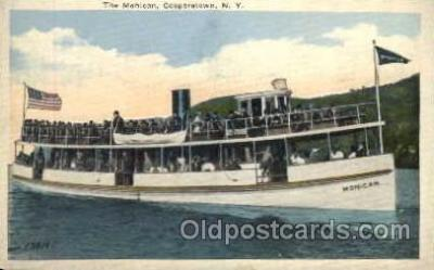 shi008143 - Mohican, Cooperstown, New York, USA Steam Boat Steamer Ship Ships Postcard Postcards