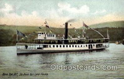 shi008148 - Str. Penn Yan Steam Boat Steamer Ship Ships Postcard Postcards