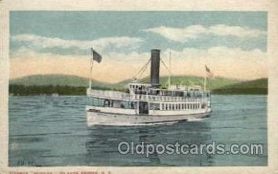 shi008151 - Mohican on Lake George, New York,  Steam Boat Steamer Ship Ships Postcard Postcards