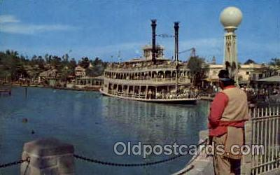 shi008160 - Disney Mark Twain Steam Boat Steamer Ship Ships Postcard Postcards