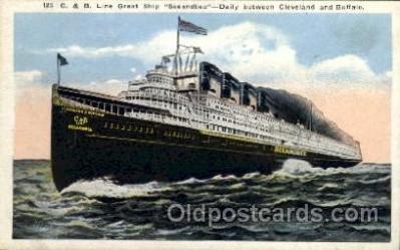 shi008207 - C. & B. Line Great Steamer Ships