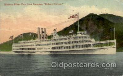 shi008232 - Robert Fulton Hudson River Line Steamer,  Ship Postcard Postcards