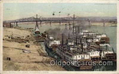 shi008245 - Cincinnatio Ohio, USA, Steamer Ship Ships Postcard Postcards