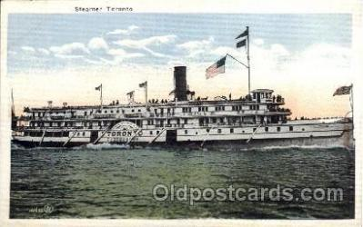 shi008261 - Steamer Toronto, Ship Ships Postcard Postcards