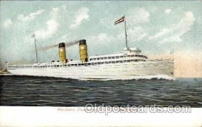 shi008267 - S.S. North West, Northern Steamship Co. Steamer Ship Ships Postcard Postcards