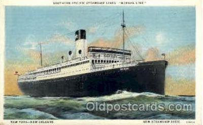 shi008300 - Southern Pacific Steamship Lines - Morgan Line, Postcard Postcards