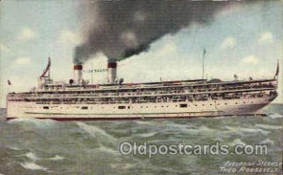 shi008301 - Excursion Steamship, Theo Roosevelt postcard postcards