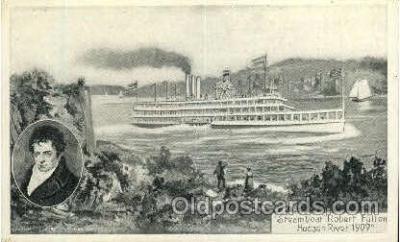 shi008373 - Steamboat Robert Fulton Postcard Postcards