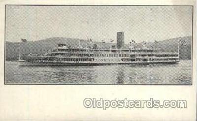 shi008388 - Hudson River Day Line Postcard Postcards