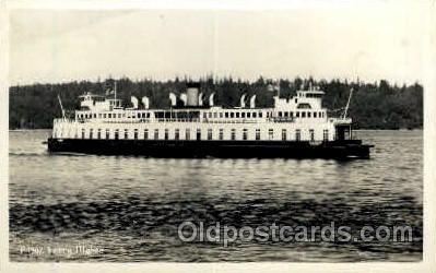shi008394 - Ferry Illahee Steamer, Steamship, Postcard Postcards