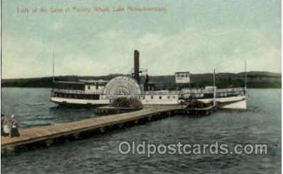 shi008411 - Lady of the Lake at Perkins Wharf, Lake Memphremagog, Postcard Postcards