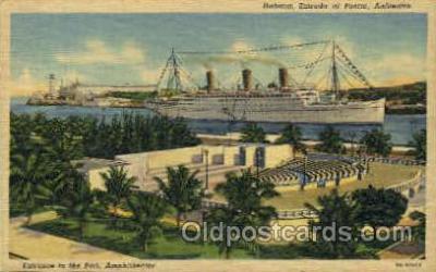shi008443 - SS. Empress of Austrailia, Port,  Amphitheater Steamer Ship Postcard Postcards