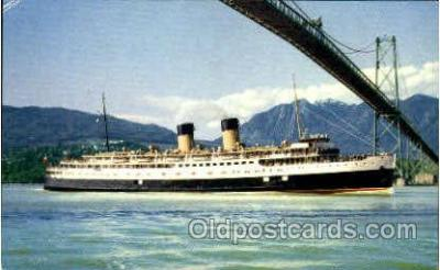 shi008450 - C.P.R. Princess Patricia Steamer Ship Postcard Postcards