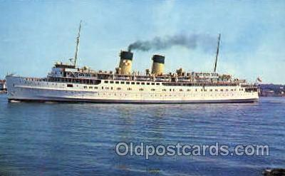 shi008453 - Princess Patricia Steamer Ship Postcard Postcards