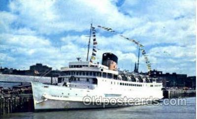 shi008456 - Princess of Acadia Steamer Ship Postcard Postcards