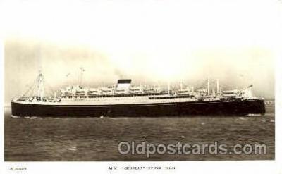 shi008464 - M.V. Georgia Steamer Ship Postcard Postcards