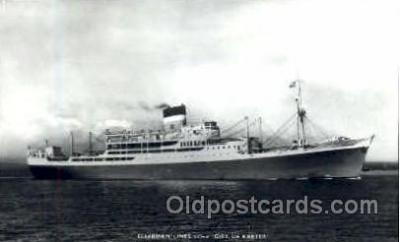 shi008471 - Ellerman Lines S.S. City Of Exeter Steamer Ship Postcard Postcards