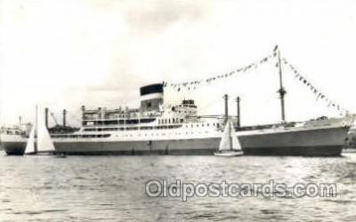 shi008474 - Ellerman Lines S.S. City Of York Steamer Ship Postcard Postcards
