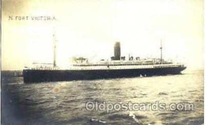 shi008475 - SS Fort Victoria Steamer Ship Postcard Postcards