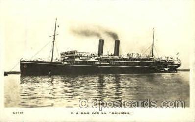 shi008483 - SS Macedonia Steamer Ship Postcard Postcards