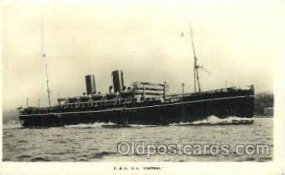 shi008489 - SS Chirtral Steamer Ship Postcard Postcards