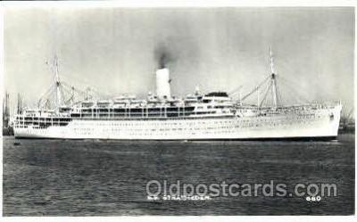 shi008491 - SS Stratheden Steamer Ship Postcard Postcards
