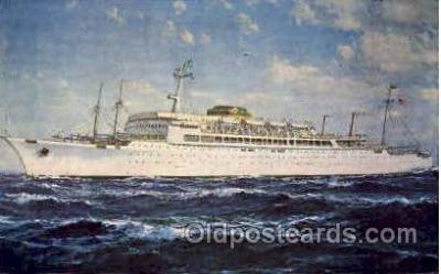 shi008496 - SS Brasil & SS Argentina Steamer Ship Postcard Postcards