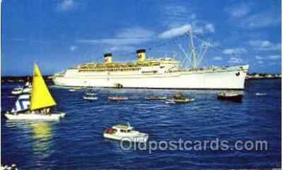 shi008526 - S.S. Matsonia Steam Ship Postcard Postcards