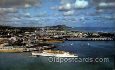 shi008527 - Majestic Diamond Head Steam Ship Postcard Postcards