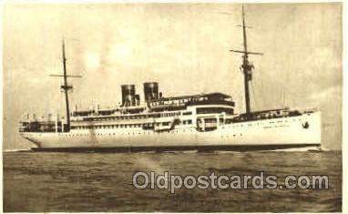 shi008534 - Ciudad De Sevilla Steam Ship Postcard Postcards