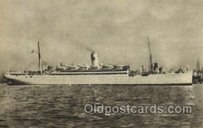 shi008535 - S.S. Drottningholm Steam Ship Postcard Postcards