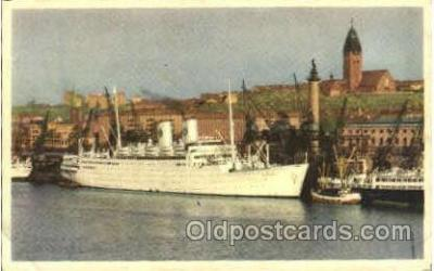 shi008539 - M/S Gripsholm Steam Ship Postcard Postcards