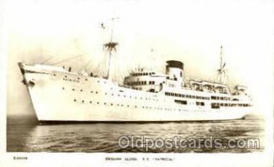 shi008541 - S.S. Patricia Steam Ship Postcard Postcards