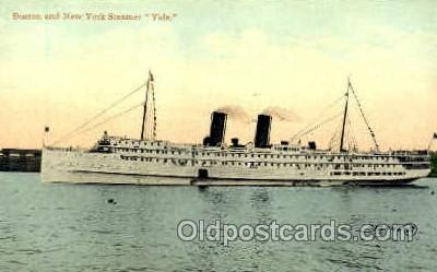 shi008545 - Steamer Yale Steam Ship Postcard Postcards