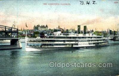 shi008559 - The Hendrick Hudson Steam Ship Postcard Postcards