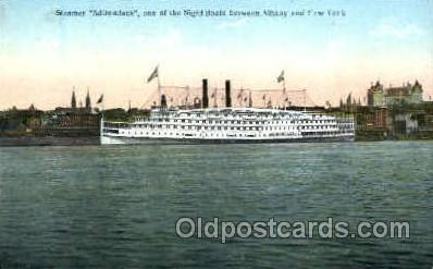 shi008560 - Steamer Adirondack Steam Ship Postcard Postcards