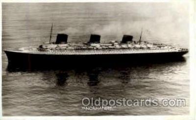 shi008564 - Normandie Steam Ship Postcard Postcards