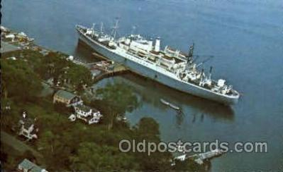 shi008579 - State of Maine Steam Ship Postcard Postcards