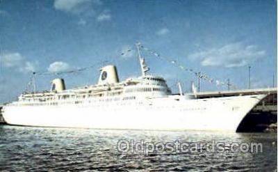 shi008580 - MS Kungsholm Steam Ship Postcard Postcards