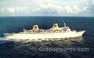 shi008585 - M.S. Kungsholm Steam Ship Postcard Postcards