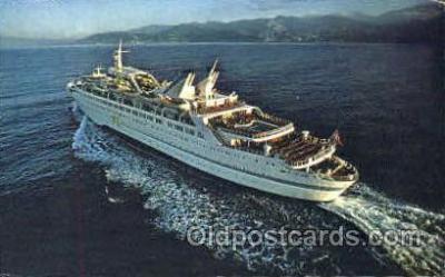 shi008593 - M/S Starward Steam Ship Postcard Postcards