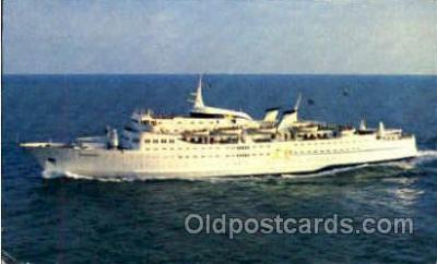 shi008614 - M/S Sunward Steam Ship Postcard Postcards