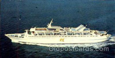 shi008615 - M/S Skyward Steam Ship Postcard Postcards