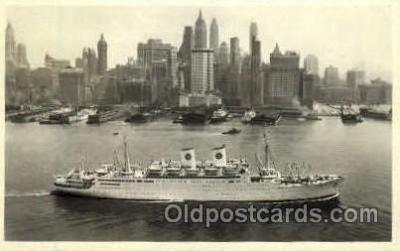shi008626 - M/S Gripsholm Steam Ship Postcard Postcards