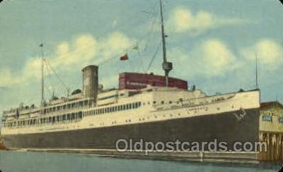 shi008630 - S.S. Yarmouth Steam Ship Postcard Postcards