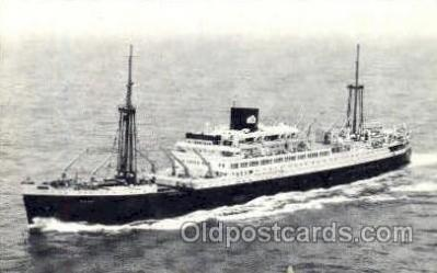 shi008660 - Royal Interocean Lines Steamer Ship Ships Old Vintage Postcard Postcards