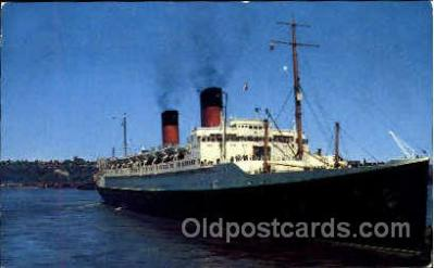 shi008687 - Ile De France, French Line Steamer Ship Ships Old Vintage Postcard Postcards
