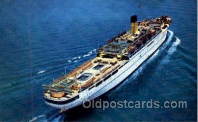 shi008717 - SS Nassau Steamer Ship Ships Old Vintage Postcard Postcards